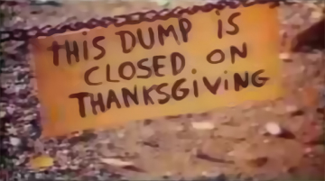 Alice's Restaurant or This Dump Is Closed On Thanksgiving