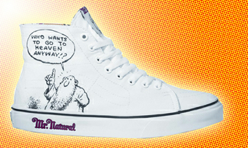 Mr Natural Sneakers by R Crumb