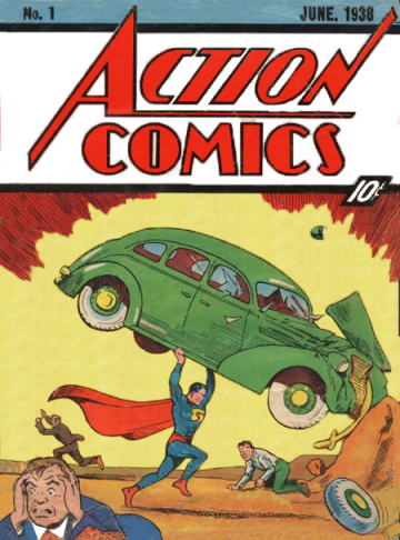 Superman #1 Action Comics