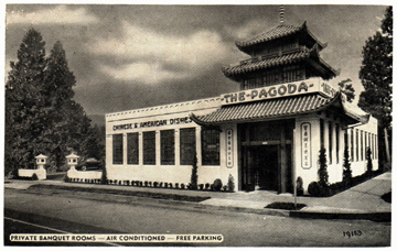 The Pagoda Restaurant Portland Oregon