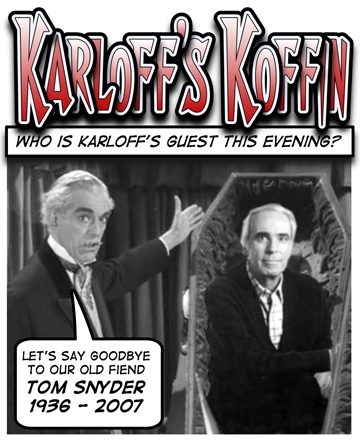 Boris Karloff Tom Snyder
